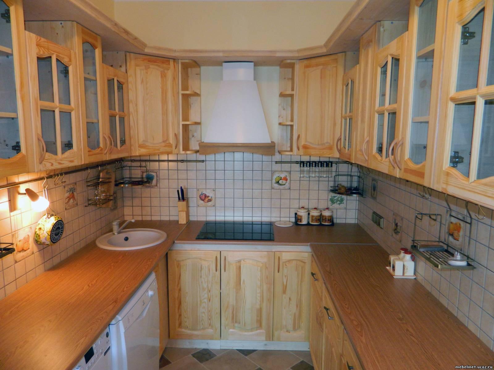 Фасады для кухни из мебельного щита своими руками